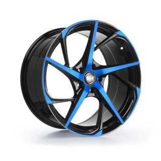 Leichtmetall-Felgen RB12959545112G31 |  RB12 1tlg. | 9,5X19 ET45 5/112 color polished - blue