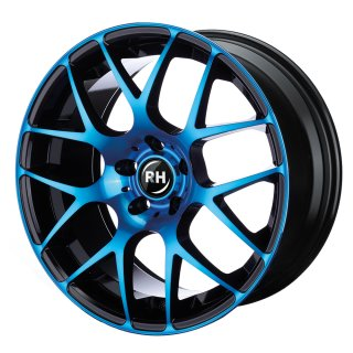 Leichtmetall-Felgen NBU959535112G31 | Typ 607 NBU Race 1tlg. | 9,5X19 ET35 5/112 color polished - blue